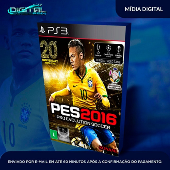 Pro Evolution Soccer 2016 Ps3 Midia Digital Envio Já!
