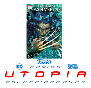 Return Of Wolverine Comic 2 (marvel Comics 2018)