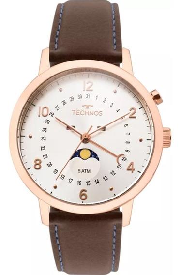 Relógio Masculino Technos Golf 6p80ad/2b - Rosê Gold