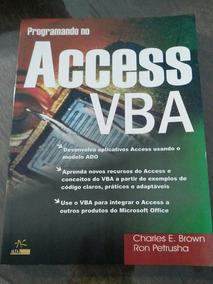 Livro Programando No Access Vba
