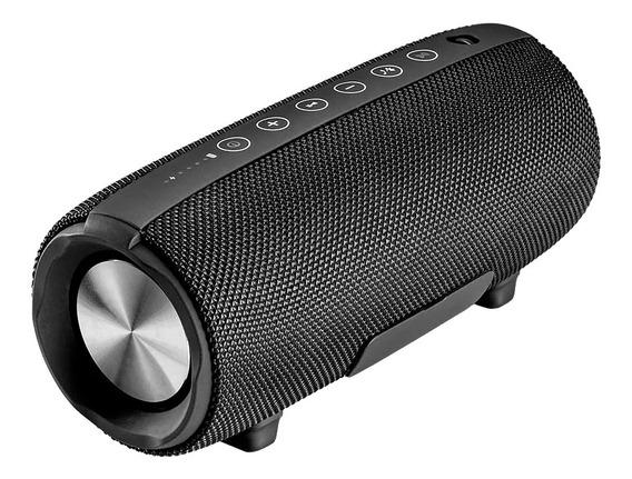 Caixa De Som Bluetooth 30w Aux/sd/usb/fm Bivolt Preta Pulse