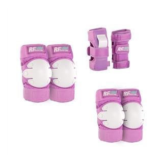 Set De Protección Para Patinaje Rollerface Lila/blanco