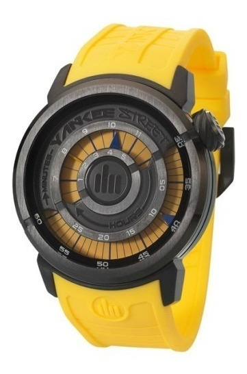 Relógio Masculino Esportivo Yankee Street Ys30167y Amarelo