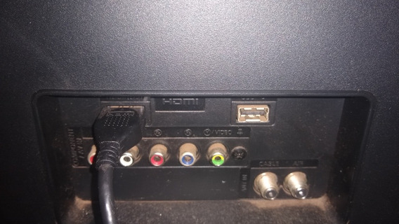 Tv Samsung Lt24d310 Tela 24 Polegadas Com Tela Trincada