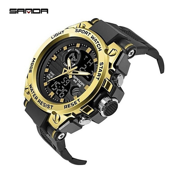 Relógio Sport Watch Sanda 738 A Prova D