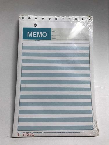 2x1 Block Memo Formas Lec Ref 35-02 Mensajes Block Nota