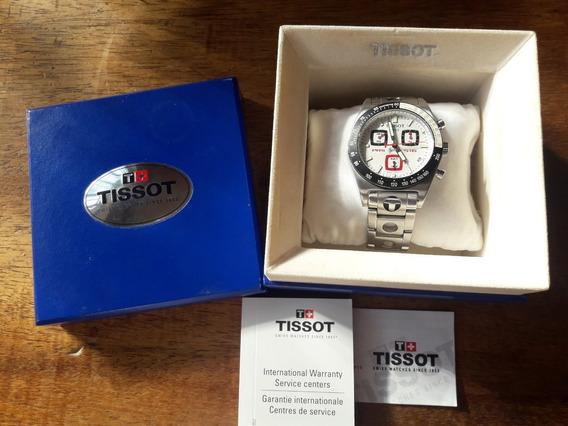 Tissot Cronógrafo Prs-516 Suíço Original Sapphire - Completo