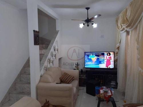 Casa Com 3 Dormitórios À Venda, 127 M² Por R$ 290.000,00 - Vila São Jorge - São Vicente/sp - Ca1835