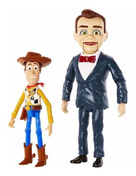 Disney Pixar Toy Story 4 Benson Y Woody Figuras 2 Pack