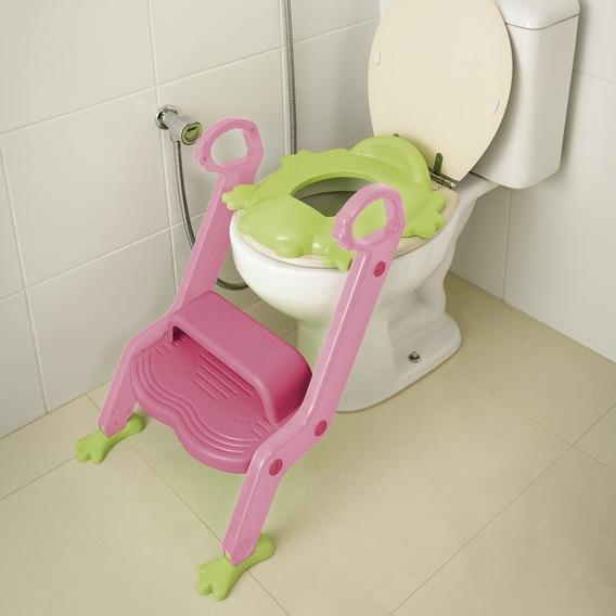 Assento Redutor Vaso Sanitario Infantil Com Escada