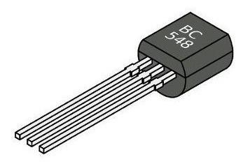 100 Unidades Bc548 Transistor Npn Arduino Eletronica Basica