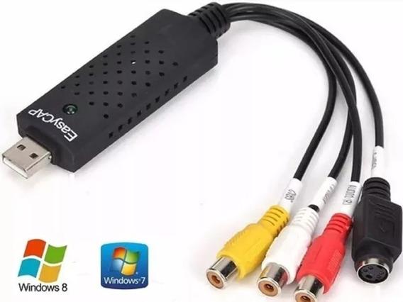 Conversor Easycap Placa De Captura Usb Audio/video Ps3 Xbox