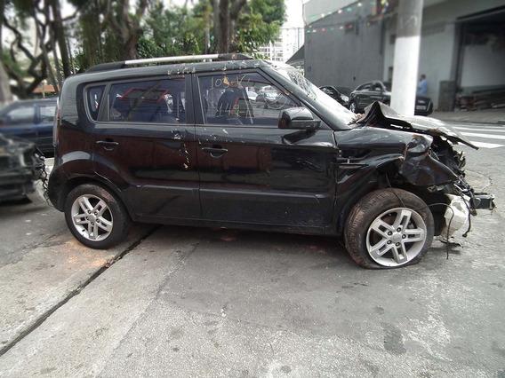 Sucata Kia Soul 1.6 2011 Motor Câmbio Bancos Portas Rodas