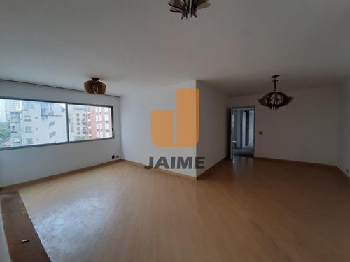 Apartamento Para Venda No Bairro Higienópolis Em São Paulo - Cod: Ja11504 - Ja11504