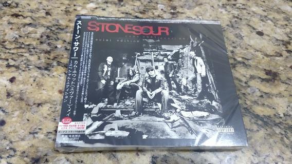 Cd Stonesour Edição Japonesa Com Dvd