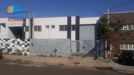 Barracão Para Alugar, 250 M² Por R$ 2.700,00/mês - Parque Via Norte - Campinas/sp - Ba0241