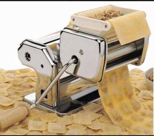 Fábrica De Pastas Winco W160 Con Raviolera