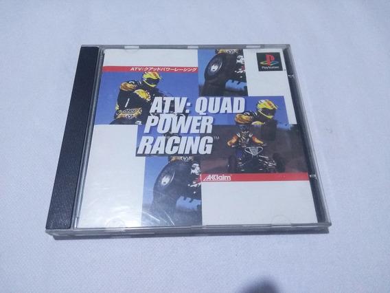 Atv Quad Power Racing Original Japonês - Playstation 1 Ps1
