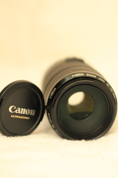 Lente Canon Ef 70-300mm 1:4-5.6 Seminova Com Capa