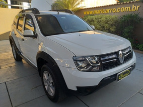 Renault Duster Expression 2015/2016 1.6 4x2 Completa Branca