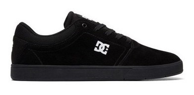 Tênis Dc Shoes Crisis Black Black/white