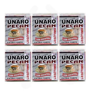 Unaro Pecan 30 Capsulas 06 Unidades - Receba 180 Capsulas