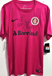 Camisa Internacional Autografada Andrés D´alessandro