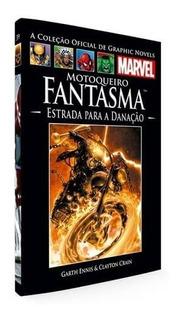 Livro Motoqueiro Fantasma - Oficial De Graphic Novels Marvel