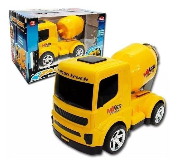 Caminhão Falcon Betoneira Usual Brinquedos