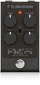 Pedal Guitarra Tc Electronic Fangs Metal Distortion