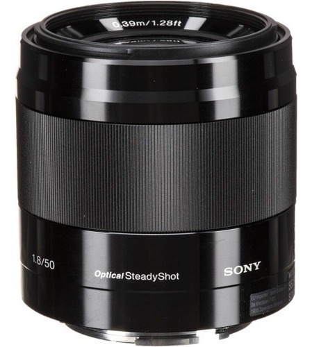 Lente Sony E 50mm F/1.8 Oss Aps-c C/ Nfe