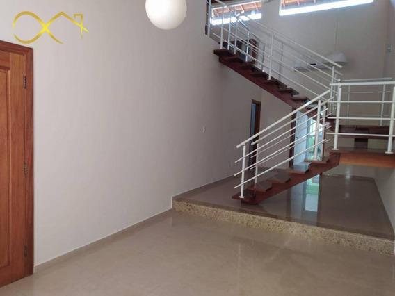Casa Com 3 Dormitórios Para Alugar, 225 M² Por R$ 3.000,00/mês - Condomínio Terras Do Fontanário - Paulínia/sp - Ca1969