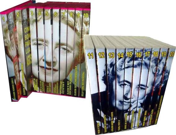 Coleção Agatha Christie Em 20 Dvds Imperdíveis Lotes 1 E 2
