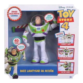 Buzz Lightyear Toy Story 4 Camina Y Habla En Español