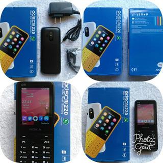 Nokia 220 Odscn Dual Sin Camara Flash Redes Sociales Nuevo