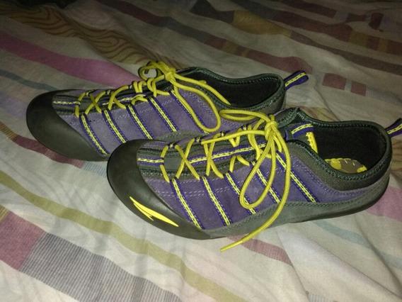 Zapato Deportivo Rs21 Dama Talla 37 Usados Morados.! Ofertaa
