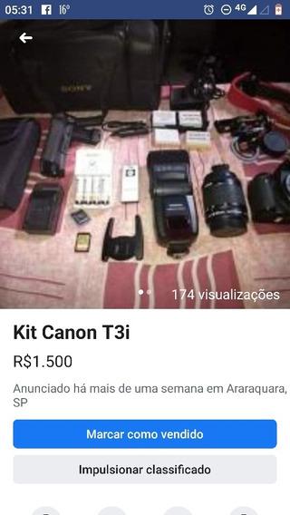 Canon T3i / Custo Benefício
