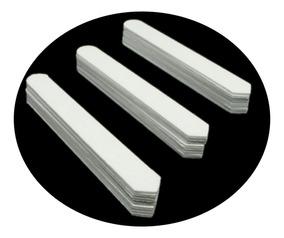 Barbatanas Plásticas Para Colarinho De Camisa Kit C/40 Pares
