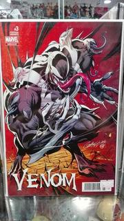 Marvel Cómics Venom #3 Variante Scott Campbell