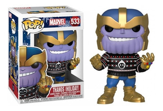 Thanos Avengers Holiday Funko Pop #533 Original Importado