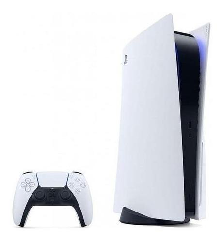 Sony PlayStation 5 825GB Digital Edition color  blanco y negro