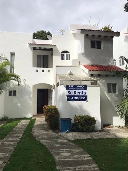 Casa En Real Pakal, Playacar Para Renta O Venta