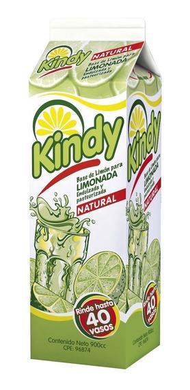 Kindy 900cc - Concentrado De Limón Y Azúcar
