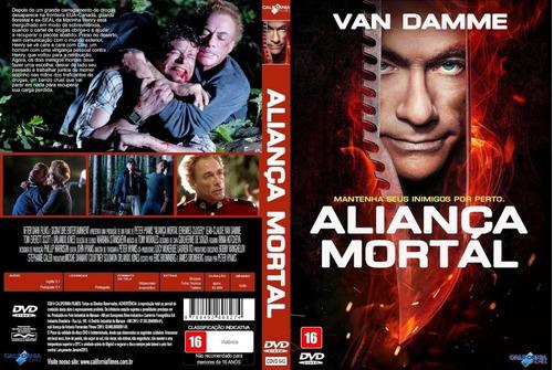 Alianca Mortal Van Damme Dvd Original Lacrado | Mercado Livre