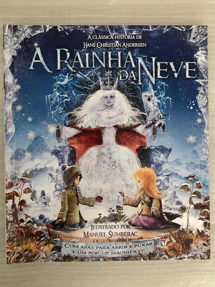 A Rainha Da Neve De Hans Christian Andersen