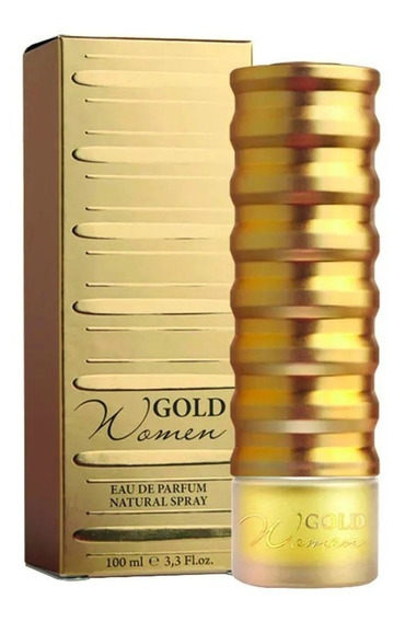 Perfume Gold Women New Brand Edp 100ml Fem. Promoção
