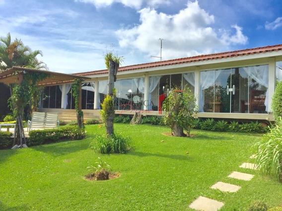 Casa Térrea Para Venda No Bairro Lagos De Santa Helena, Área Total De 2200 M E Lazer Completo. - 1546