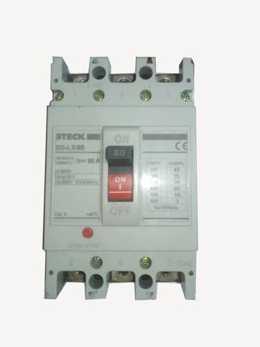 Breker Totalizador 3x75 Industrial Trifasico Proteccion