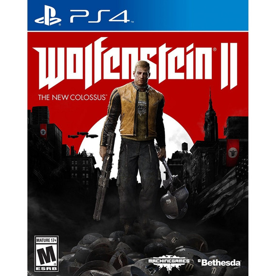 Wolfenstein Ii The New Colossus Lacrado Ps4! Loja Física!