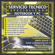 Servicio Técnico Para Pc Y Notebooks